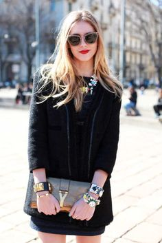 Chiara Ferragni, blogger,  <i>The Blonde Salad</i>