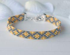 Bead loom bracelet (W002)