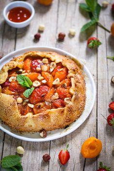 Pie Recipes, Sweet Recipes, No Cook Desserts, Vegetable Pizza, Deserts, Food Porn, Menu, Sweets, Restaurant