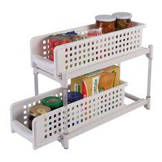 installare contenitori da parete ikea in cucina   idee salvaspazio ... - Cucina On Line