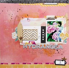 Love this #layout by @greenfrogstudio #scrapbooking using @CartaBellaPaper #pinit