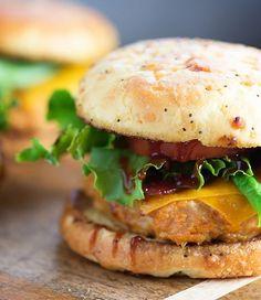 Cheddar BBQ Chicken Burger