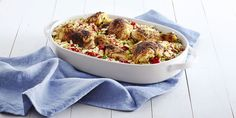 Pair this spicy chicken dinner with a glass of Beaujolais-Villages.