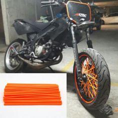 19.32$  Buy here - http://alitrz.shopchina.info/go.php?t=32748783807 - For kawasaki Motocross Spoke Skins Wheel RIM Spoke Covers For KTM 150 EXC450 Kawasaki Motocycle  Dirt Bike  #buyonlinewebsite