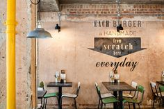 Handmade Burger Co by Brown Studio, Nottingham – UK » Retail Design Blog