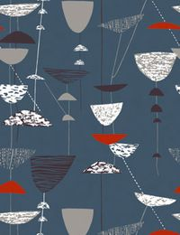 It was the Festival of Britain that launched Lucienne Day's career as a textile designer. Along with her husband and …