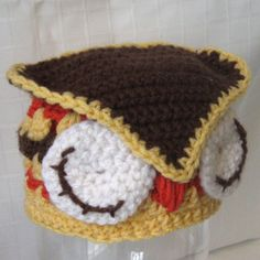 Crochet Pattern Infant-Toddler Woodland OWL Hat Beanie  Easy To Make @ http://www.artfire.com/ext/shop/product_view/studio7designs/2737589/crochet_pattern_infant-toddler_woodland_owl_hat_beanie__easy_to_make/design/patterns/crochet/hats