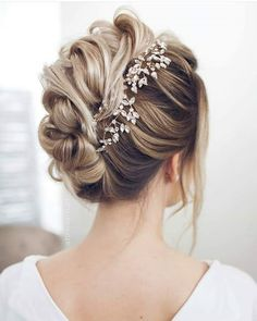 Hair style girl Step By Step for wedding Wedding Hairstyles For Medium Hair, Loose Hairstyles, Bride Hairstyles, Hairstyles 2018, Pretty Hairstyles, Homecoming Hairstyles, Headband Hairstyles, Vintage Hairstyles, Natural Hairstyles
