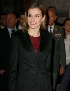 Queen Letizia of Spain visits the Vienna -2