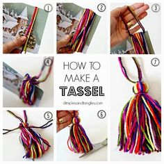 Dimples and Tangles: PUT A TASSEL ON IT!