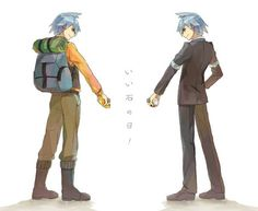 Steven Stone from the anime
