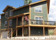 House vacation rental in Grand Lake, CO, USA from VRBO.com! #vacation #rental #travel #vrbo