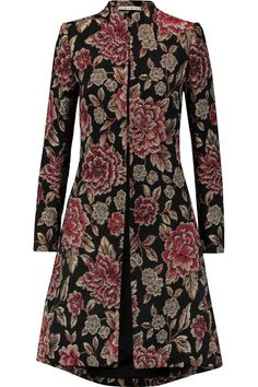 Shop on-sale Alice + Olivia Xia metallic floral-jacquard coat. Browse other discount designer Coats & more on The Most Fashionable Fashion Outlet, THE OUTNET.COM