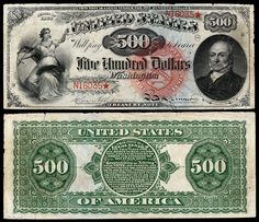 Large denominations of United States currency - Wikipedia Thousand Dollar Bill, Money Worksheets, Money Notes, Dollar Money, Gold Money, Coin Values, World Coins, Coin Collecting, United States