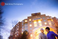 Crystal and Charles's Modern Engagement Session :: Renaissance Hotel, Charlotte, NC  ©2012 Traci Arney Photography