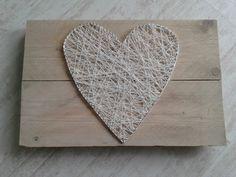 Hart op steigerhout