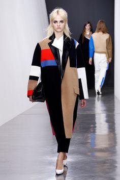 Céline Color Block Coat