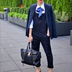 🎉Pinstripe blazer navy blue This is really a power suit blazer, well tailored and has a elbow patch. Zara Jackets & Coats Blazers