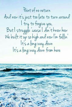 One Direction - Long Way Down