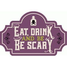 Silhouette Design Store: eat, drink & be scary