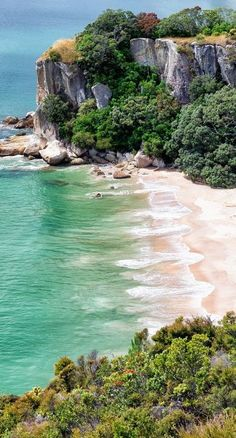 Another gem of a beach ~ in New Zealand's Coromandel Peninsula
