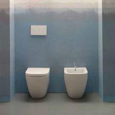 Sanitari Filo parete Ceramica Globo Stockholm MULTI WC + BIDET + SEDILE