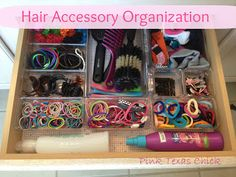 Therapy for your hair accessories drawer.