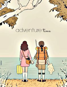 adventure time + moonrise kingdom