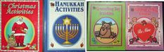 LOT OF 4 Holiday activity books Christmas Hanukkah Groundhog Day Valentine's Day – Hanukkah Christmas Hanukkah, Christmas Colors, Color Activities, Christmas Activities, Cultural Pictures, Christmas Kitten, Math Manipulatives, English Book, Groundhog Day