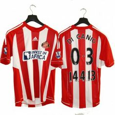 #perlamaglia campaign Ebay charity auction VERY RARE Sunderland A.F.C. 2012-13 special jersey after derby