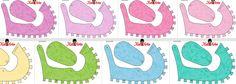 Zapatos de Bebé para Imprimir Gratis con diseño de arabescos. Free Printable. http://www.ohmyfiesta.com/2013/11/zapatos-de-bebe-para-imprimir-gratis_24.html