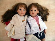 Götz Steiff Puppe Doll Nadja und Leatrice