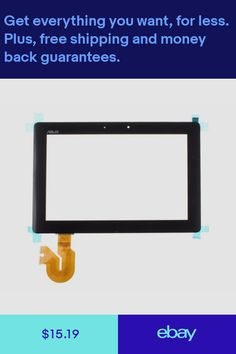 Black Fit Glass Touch Screen Digitizer For Asus Transformer Pad NEW Transformers, Communication, Glass, Mobile Phones, Computers, Ebay, Drinkware, Glas, Mirrors