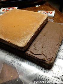 Posed Perfection: Kit Kat Piano Cake