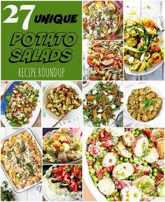 27 Unique Potato Salads Recipe Roundup #homemadeandyummy #potatosalad #potatosaladrecipes #recipecollection #reciperoundup | homemadeandyummy.com