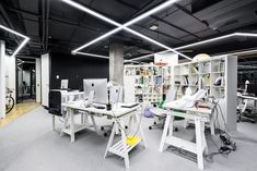 MAD Architects have developed the new offices of game development company Innova located in Moscow, Russia. The office is situated in five-storey mansion Loft Office, Open Office, Visual Merchandising, Mobile Living, Workplace Design, Coworking Space, Moscow Russia, Design Furniture, Stores