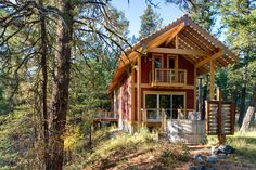 """""""Forest Loop"""". A two-story cabin in the Method Valley, Washington. Designed by Balance Associates Architects."""