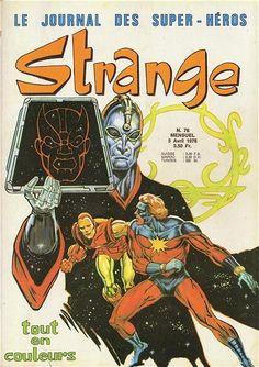 Couverture de Strange -76- Strange 76