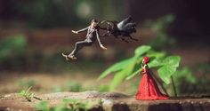 The wedding photography has to be memorable and with Ekkachai Saelow's attempt that turns couple into miniature people in a macro world it becomes exclusive