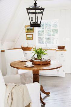 A Country Farmhouse: White