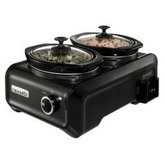 Crock-Pot® Hook Up™ Connectable Entertaining System, 2 - 1-Quart