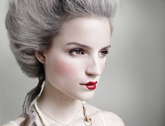 Marie Antoinette Makeup | Marie antoinette by john wright~~Makeup Idea by JustLinnea