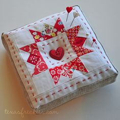Adorable pincushion