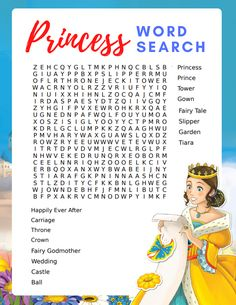 If your little princess or prince is looking for a fun activity, be sure to print this free printable princess word search for kids. Learning Activities, Kids Learning, Activities For Kids, Arts And Crafts Projects, Diy Projects, Toilet Paper Roll Crafts, Paper Crafts, Cute Kids Crafts, Egg Carton Crafts