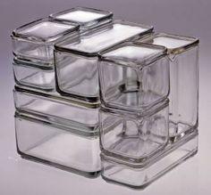 Kubus [Cube] | Wilhelm Wagenfeld Designer Vereinigte Lausitzer Glaswerke AG Manufacturer
