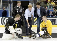 Prince Harry and PM Trudeau start InvictusGames countdown inToronto