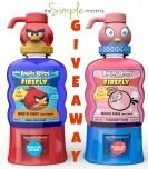 angry birds mouthwash :: firefly :: good.clean.fun :: review + giveaway