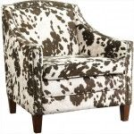 Coaster Furniture - Accent Chair in Brown/White Cow Pattern - 902134