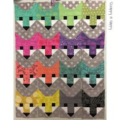 The fancy foxes for the Fancy Forest!  #fancyforestquiltalong