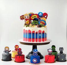 Avengers buttercream cake superheroes theme in 2019 детский Avengers Birthday Cakes, Superhero Birthday Cake, Custom Birthday Cakes, 5th Birthday, Cake Birthday, Bolo Sonic, Sonic Cake, Pastel Avengers, Baby Avengers